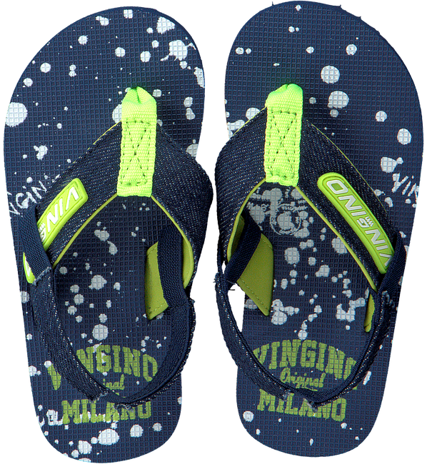 blauwe VINGINO Slippers JAX ENFANTS  - large