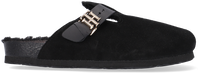 Zwarte TOMMY HILFIGER Pantoffels TH WARMLINED CLOSE T  - medium