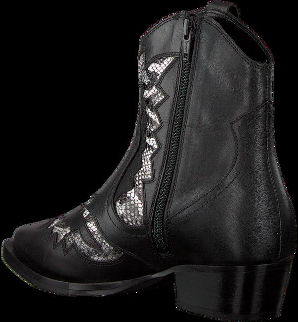 Zwarte BRONX Enkellaarsjes 47170 - large