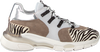 Witte CLIC! Lage sneakers CL-9855  - small
