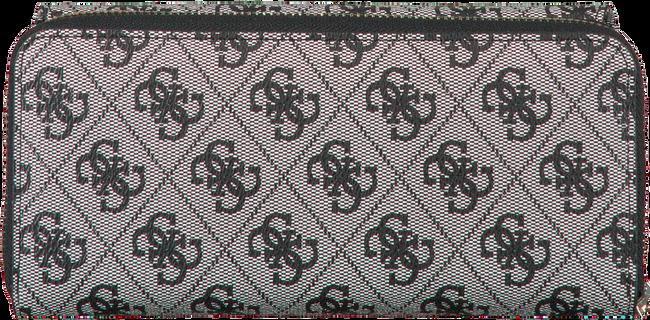 Zwarte GUESS Portemonnee CANDACE SLG  - large