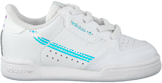 Witte ADIDAS Sneakers CONTINENTAL 80 EL I  - large