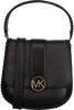 Zwarte MICHAEL KORS Schoudertas LILLIE MD FLAP MESSENGER - small