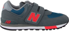 Grijze NEW BALANCE Sneakers IV574/YV574 M  - small