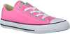 Roze CONVERSE Sneakers CHUCK TAYLOR ALL STAR OX KIDS  - small