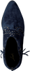 Blauwe LOLA CRUZ Enkellaarsjes BOTIN T.85 EN ANTE CON REMACHE  - small