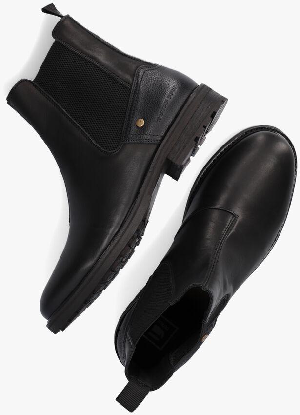 Zwarte G-STAR RAW Chelsea boots VACUM CHS LEA M  - larger