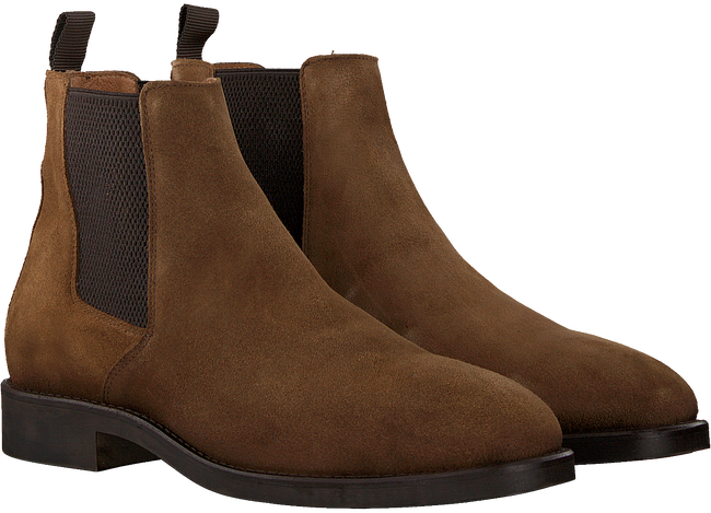 Cognac MAZZELTOV Chelsea boots GOLSING  - large