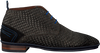 Grijze FLORIS VAN BOMMEL Nette schoenen 10960  - small
