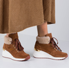 Cognac SCAPA Sneakers 10/5065  - small