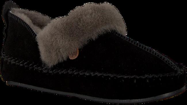 Zwarte WARMBAT Pantoffels POLARFOX WOMEN SUEDE - large