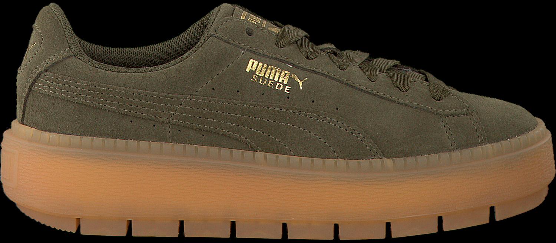 Zwarte PUMA Sneakers PLATFORM TRACE WMN | Omoda