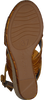Bruine UNISA Sandalen MIGUEL  - small