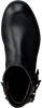 Zwarte UNISA Lange laarzen GARITO  - small