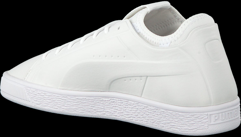 a071b46116a049 Witte PUMA Sneakers BASKET CLASSIC SOCK LO MEN. PUMA. -50%. Previous