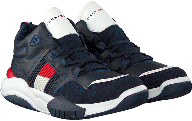 Blauwe TOMMY HILFIGER Sneakers 30486  - large