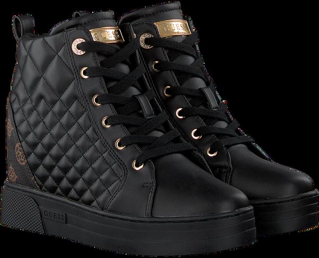 Zwarte GUESS Hoge sneaker FASE  - large