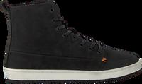 Zwarte HUB Hoge sneaker BASE  - medium