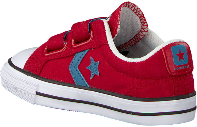 Rode CONVERSE Sneakers STAR PLAYER 2V OX KIDS - large