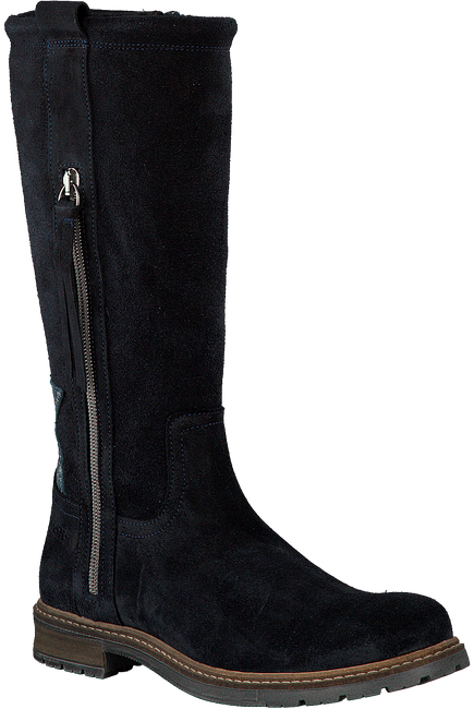 Zwarte GIGA Lange laarzen 8542  - large