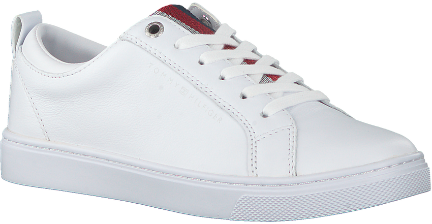 Witte TOMMY HILFIGER Lage sneakers CASUAL CORPORATE  - larger