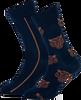 Blauwe MARCMARCS Sokken ERIC COTTON 2-PACK - small