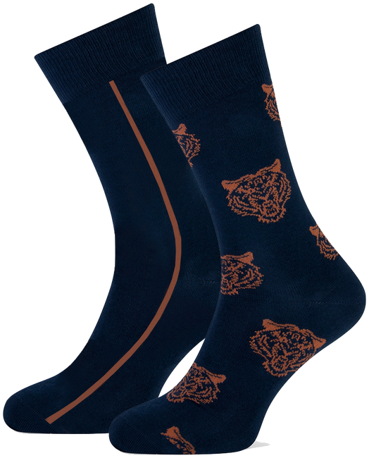 Blauwe MARCMARCS Sokken ERIC COTTON 2-PACK - large