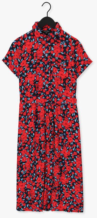 Multi COLOURFUL REBEL Midi jurk DALIA MAXI SHIRT DRESS - larger