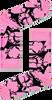 Roze HAPPY SOCKS Sokken PINK PANTER PINK-A-BOO SOCK  - small