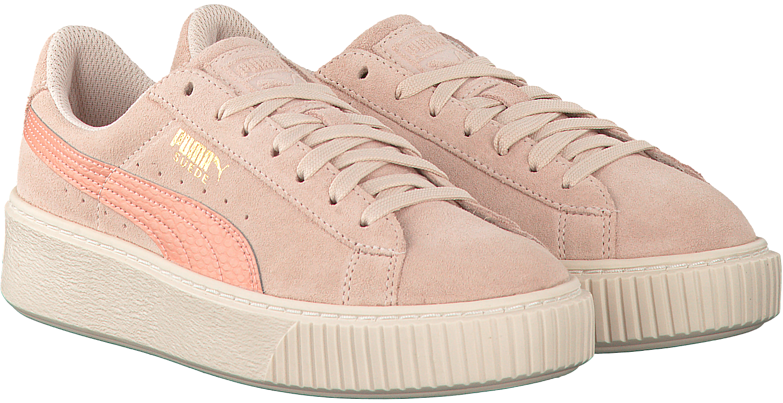 Roze PUMA Sneakers SUEDE PLATFORM JR Omoda