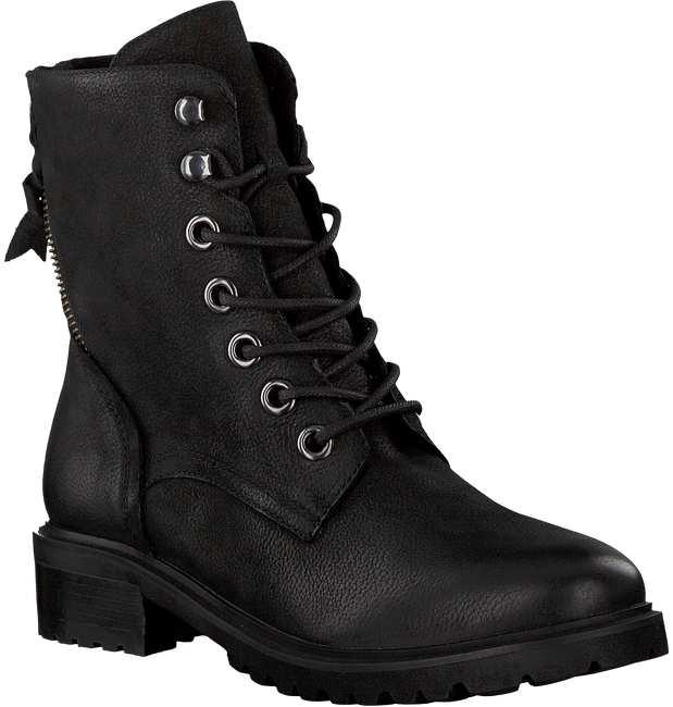 Zwarte OMODA Veterboots LALA LACE BOOT - large