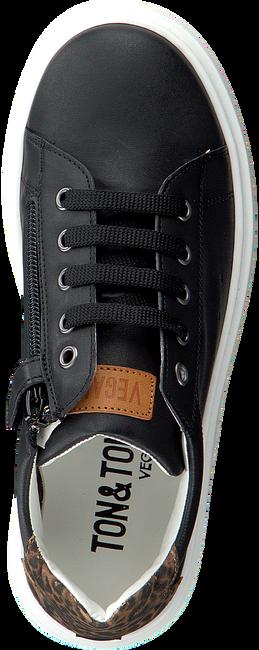 Zwarte TON & TON Lage sneakers SNEAKER PRINT 1704  - large
