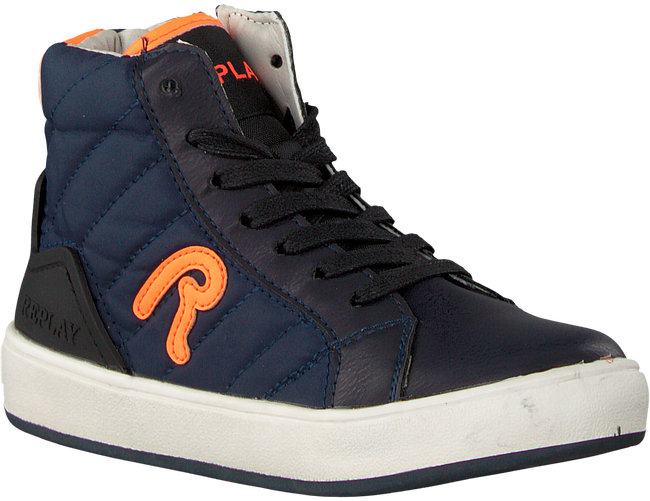 Blauwe REPLAY Sneakers OLIVEN - large