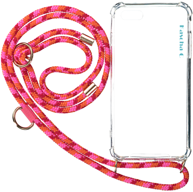 Roze KASCHA-C Telefoonkoord PHONECORD IPHONE 7+/8+  - large