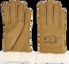 Bruine UGG Handschoenen SHEEPSKIN LOGO - small