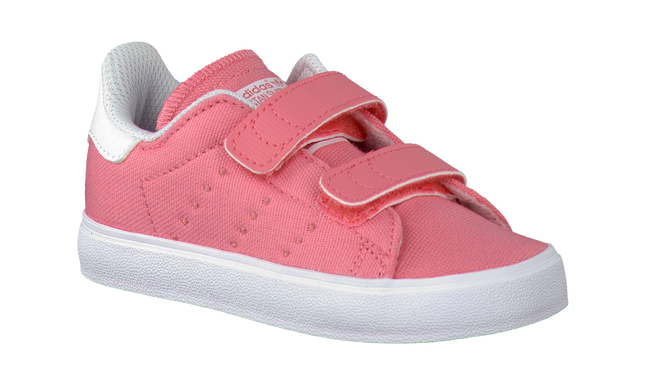 Roze ADIDAS Sneakers STAN SMITH KIDS  - large