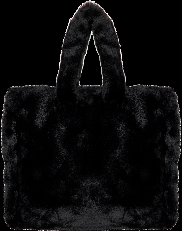 Zwarte Stand Schoudertas Lola Bag