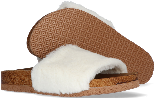 Witte OMODA Pantoffels LUCY - large