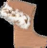 Bruine DUBARRY Sokken LYNX - small