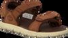 Bruine TIMBERLAND Sandalen NUBBLE SANDAL LTHR 2 STRAP - small