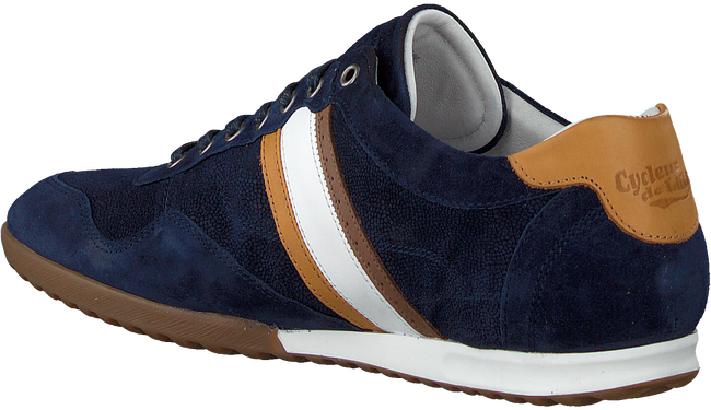 Blauwe CYCLEUR DE LUXE Lage sneakers CRASH  - large