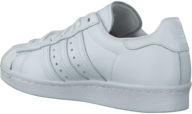 Witte ADIDAS Sneakers SUPERSTAR 80S DAMES Omoda.nl