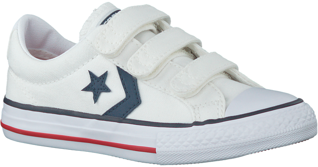 Witte CONVERSE Sneakers STAR PLAYER EV 3V OX KID  - large