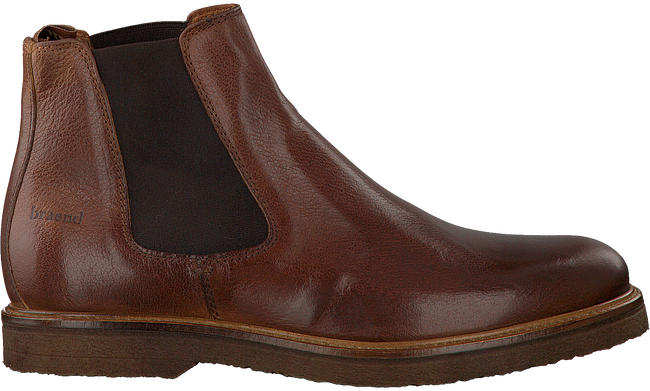 Bruine BRAEND Chelsea boots 24627  - large