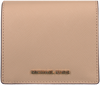 Beige MICHAEL KORS Portemonnee CARRYALL CARD CASE - small