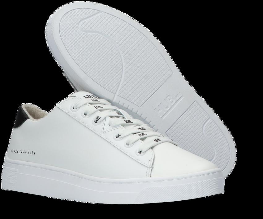 Witte HUB Lage sneakers HOOK LW LOGO - larger