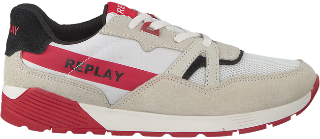Witte REPLAY Sneakers MIAMI  - large