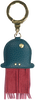 Blauwe LOULOU ESSENTIELS Sleutelhanger 03KEY  - small