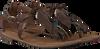 Bruine LAZAMANI Sandalen 75.539 - small