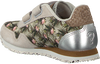 Grijze WODEN WONDER Sneakers NORA FLOWER KIDS - small